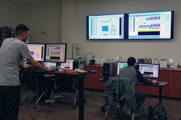 M1 Stoll Training class at the Manufacturing Solutions Center facility