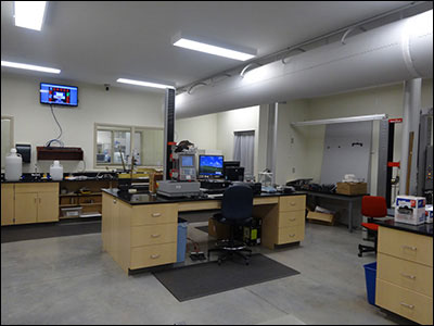 Manufacturing Solutions Center testing lab