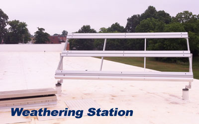 weathering station